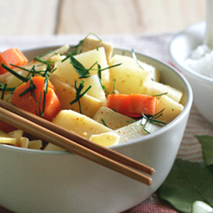 potato and carrot curry