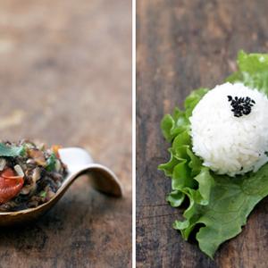 spicey thai mushroom salsa