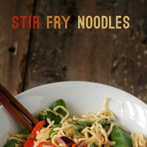 Easy stirfry noodles